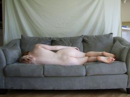 Nude on Sofa 4 by chamberstock