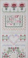Emie Bishop Teaching Sampler by Velvet--Glove