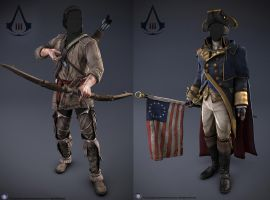 Assassin's Creed III Funny Face Cut Out by DOM098652