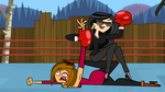 Sisters fight by Javx77