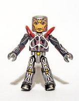 Silvermane (Cyborg Suit) Custom Minimate by luke314pi