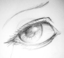 Eye sketch by krvlore