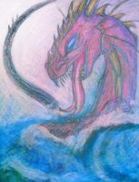 Sea Dragon raging by persephone-the-fish