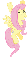 Fluttershy Wins by SpellboundCanvas
