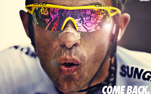 Alberto Contador Return Wallpaper by albertodsantos