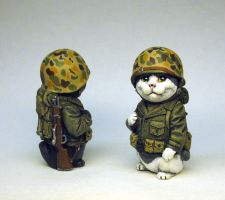 Marine Infantry Kitty by Switchum