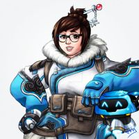 Overwatch 8/8 - Mei by Jevi93