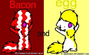 bacon and egg cats by webkinzfun8