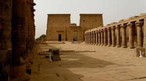 Temples of Philae by francis1ari
