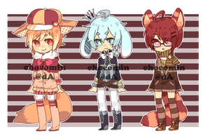 Adoptable set 7 [Auction/OPEN] by chocomin