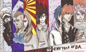One Year of DA by HyruleExorcist