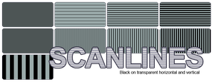 Scanlines Vertical and Horizontal by hassified