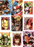 Marvel 70th Anniversary 03 by Cinar