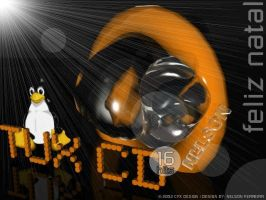 TUX CD by orangebox