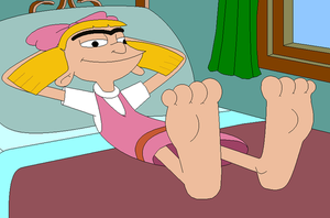 Helga Pataki's Feet POV by Gamekirby