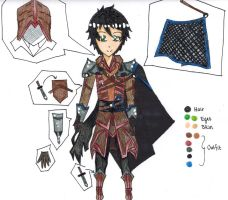 CE: Ten Outfit Design by Cross-Angel-Chan