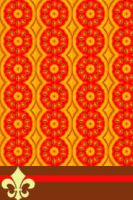 Orangy Pattern by realmofheaven