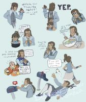 Ask Tarrlok sketchdump 2 by bearbending