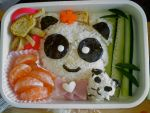Panda bento by snoopyphantom