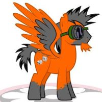 OC Pony 'Loaded Dice' W/Goggles by Loaded--Dice