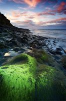 Green rock II by ChristopheCarlier