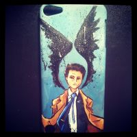 Angel of the Lord - iPod Case by jsheaisaninja