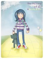 wOZ-Dorothy and Toto by Phonon