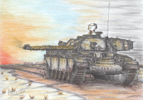 Chieftain Mk.2 Tank by Patoriotto