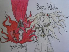 Snow White and Rose Red by xitsveronikiox