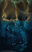 Water Cave by GreekCeltic