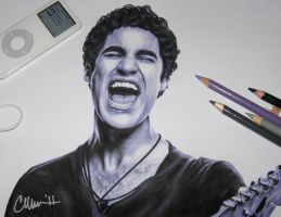 Mr. Criss, um___ Drawing by Live4ArtInLA