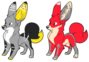 Fox Adopts~ closed by Sphinx-Chan