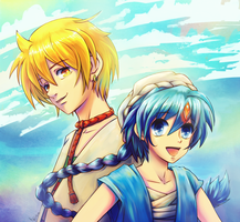 Alibaba and Aladdin by Arenheim