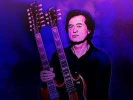 Jimmy Page by Momez