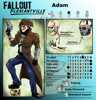 Fallout OCT Adam by KingVego