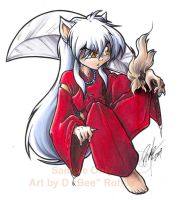 Inuyasha sticker colors01 by Bee-chan