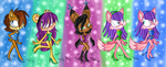 Tap Dancing Sonic Girls 3 by Fun-Time-Is-Party