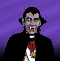 Gilligan as 'The Vampire' by tvfunnyman