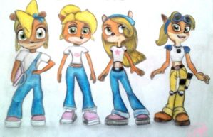 Coco Bandicoot evolution by Bel-Star