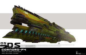 Cornord Is a Military carrier by Dhilipsomesh