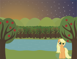 A Night Out by the Lake by AlextheArtsy