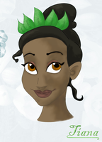 Disney Weddings- Tiana (version 1) by EnihpledAmira