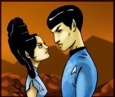 Vulcan Love Color by WarBrown