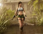 Lara Croft 80 by Nicobass