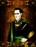 Portrait of the Second Prince by Ohdotar