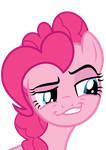 Pinkie Pie Smirk by thinkingwithsmile