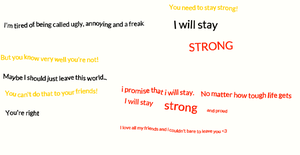 I will stay strong by HedgehogGirl2001