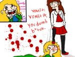 VOMIT IT, MARY. by Mia-Lapera