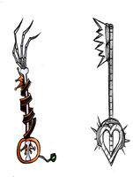 Keyblades by ScaredyAsh006