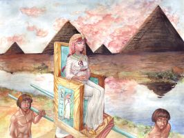 Along the Nile by nillia